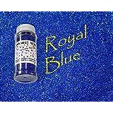 Royal Blue, Extra Fine Holographic Glitter 1/128, 4oz Shaker Bottle
