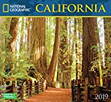 National Geographic California 2019 Wall Calendar