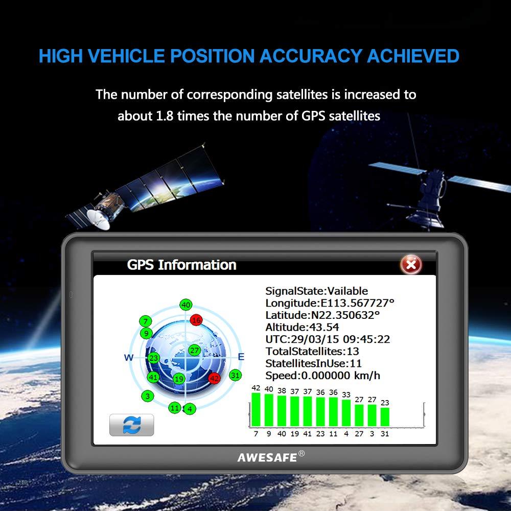 awesafe SAT NAV GPS Navigation System 7 inch 8GB 256MB  Amazon.co.uk   Electronics 5c89fb62d9