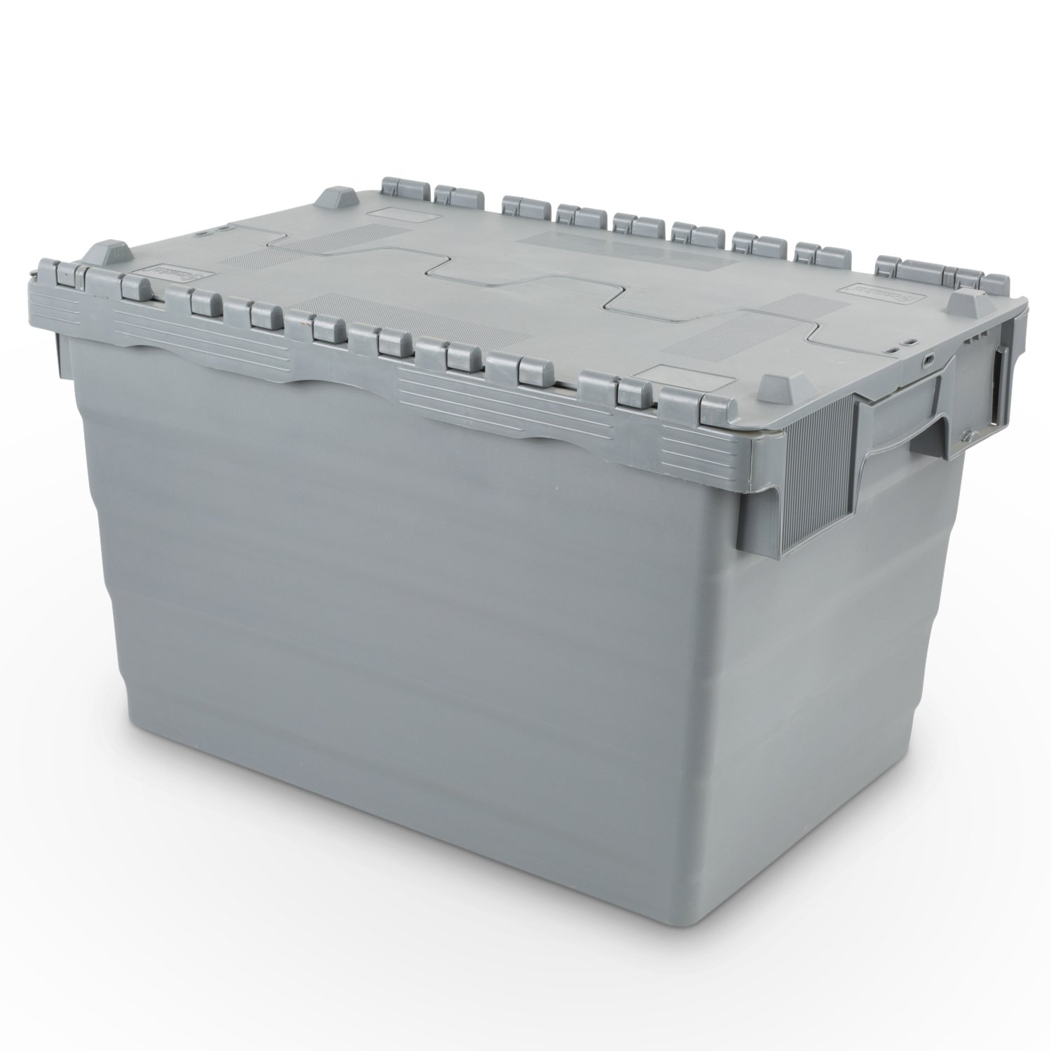 Hans Schourup Reusable Container with Hinged Lid, 22601028  68  Litre 600  x 400  x 365  mm 22601028 68 Litre 600 x 400 x 365 mm