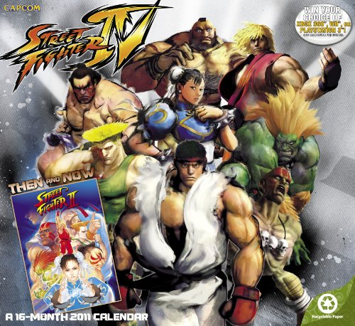 2011  Street Fighter  Wall Calendar (Street Fighter Calendar)