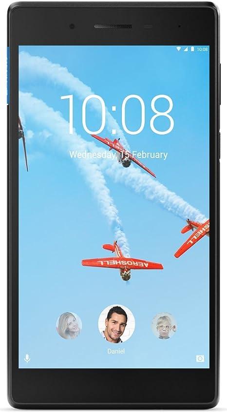 Amazon Com Lenovo Tab 4 7 7 Inch Android Tablet Wi Fi Quad Core 1 3 Ghz Processor 8gb Rom Black Computers Accessories