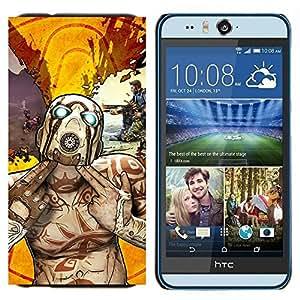 EJOOY---Cubierta de la caja de protección para la piel dura ** HTC Desire Eye M910x ** --Psycho Tf F0Rtress Equipo Carácter