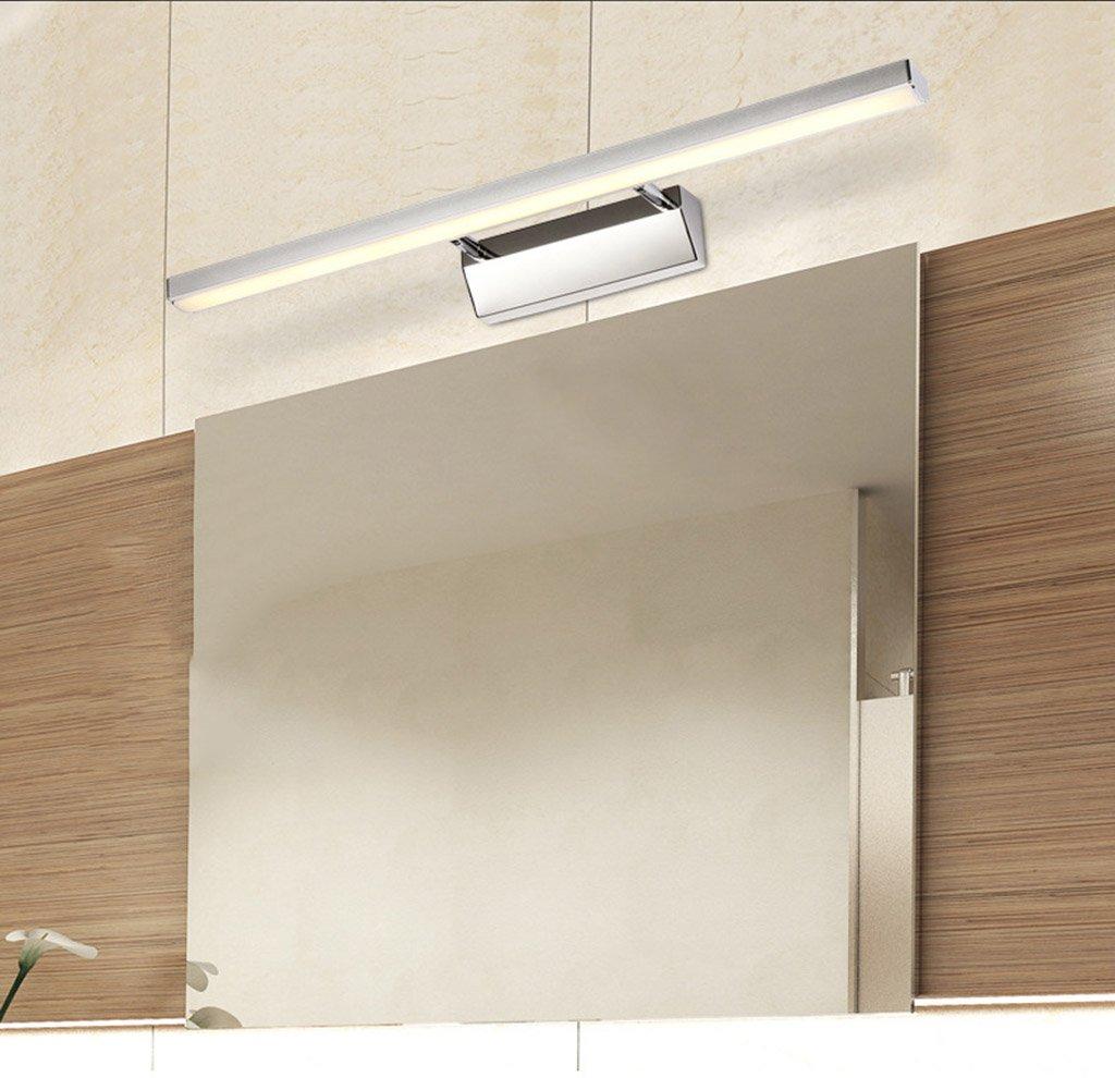 Yxx max lámpara para Maquillaje Maquillaje Maquillaje LED Espejo Luces, Impermeable Niebla Baño Espejo Gabinete Lámpara Moderna Minimalista Lámpara de Pared (Color : Luz Blanca, Tamaño : 7w/40cm) a34d88