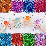 Warmfits 3D Holographic Butterfly Nail Glitter 24