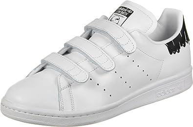 adidas Stan Smith CF W, Chaussures de Fitness Femme, Blanc (Ftwbla/Ftwbla