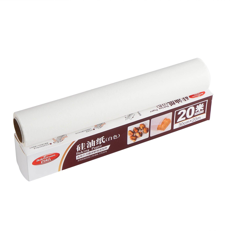 Bakerdream 1 Roll Parchment Paper Nonstick Baking Paper Sheet 20M