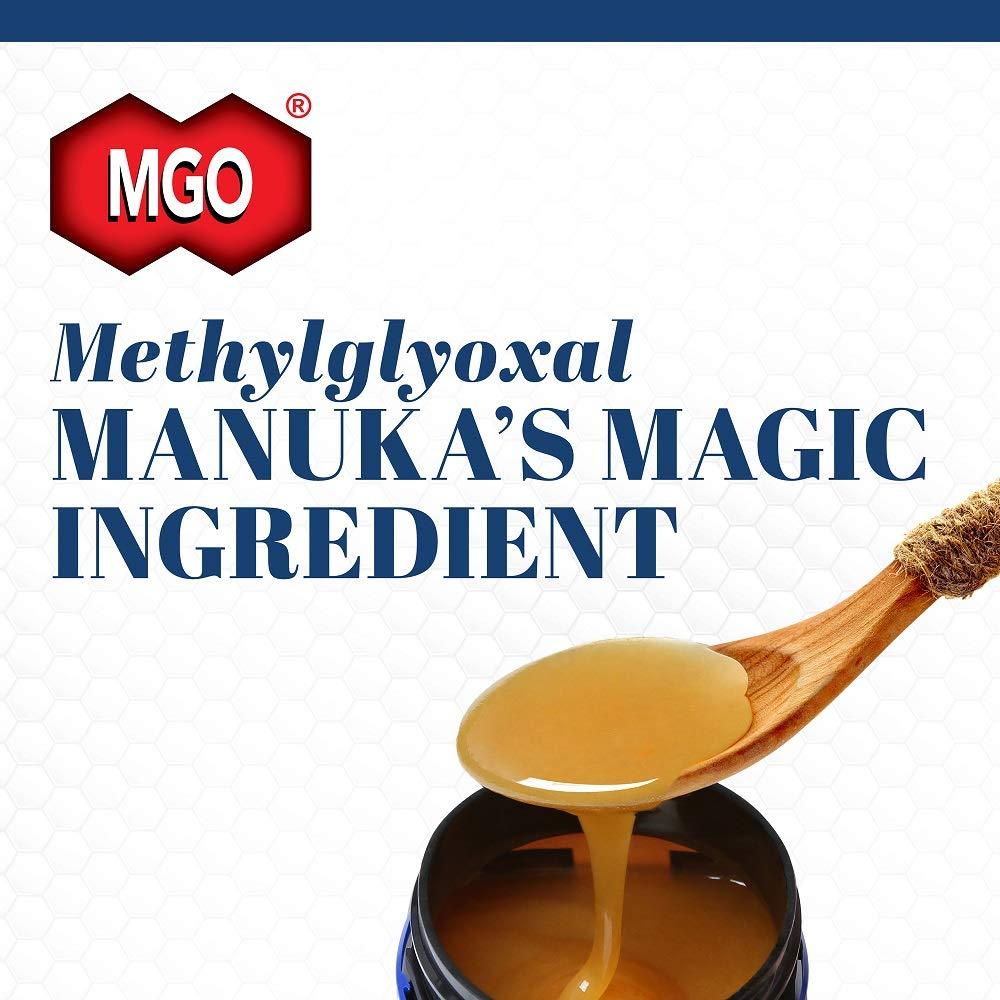 Manuka Health - MGO 400+ Manuka Honey, 100% Pure New Zealand Honey, 1.1 lbs by Manuka Health (Image #3)
