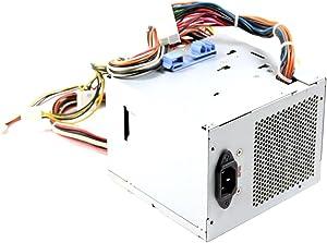 Genuine Dell 375w WM283 For Dimension 9100, 9150, 9200 Upgrade for Dimension 5100, E510, 5150, E520, E521, E310, 3100 For XPS 410, 400 For Precision Workstations 380, 390 Compatible Part Numbers: P8401, K8956, KH624, PS-6371-1DF-LF,L375P-00, N375P-00, PNL375P