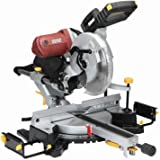 12 Inch Double-Bevel Sliding Compound Miter Saw with Laser Guide 15 Amp; Comes with Dust Bag, Machined Aluminum Fence…
