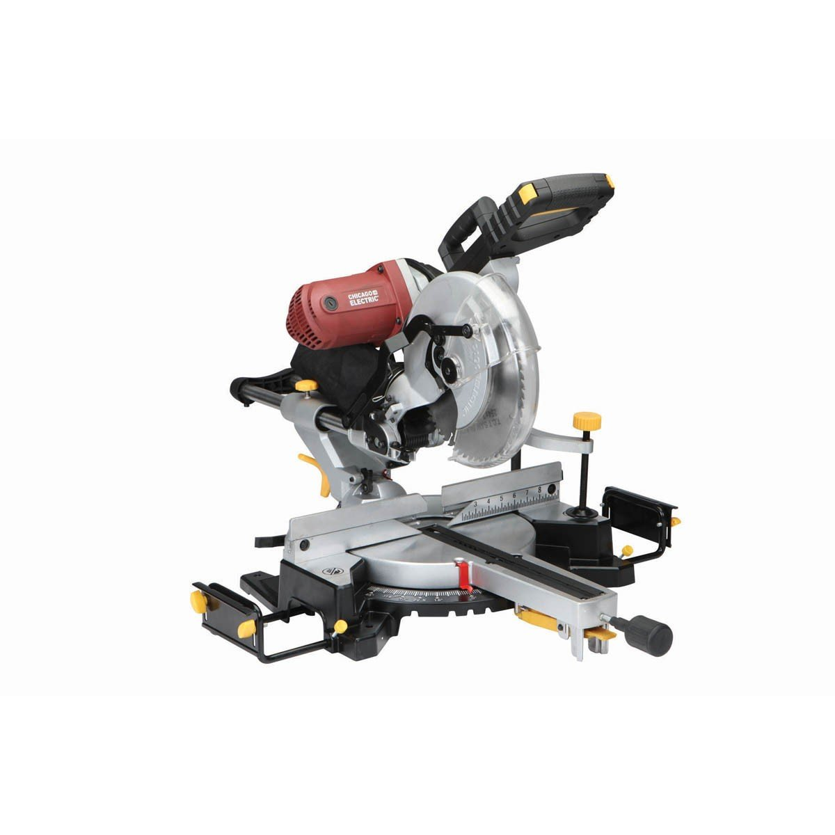 12 inch double bevel sliding compound miter saw with laser guide 15 12 inch double bevel sliding compound miter saw with laser guide 15 amp comes with dust bag machined aluminum fence extension bars table clamp greentooth Choice Image