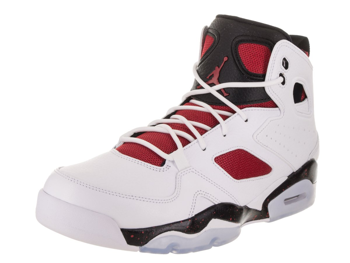 Jordan メンズ B078XN8XS7 10.5 D(M) US White/Gym Red Black