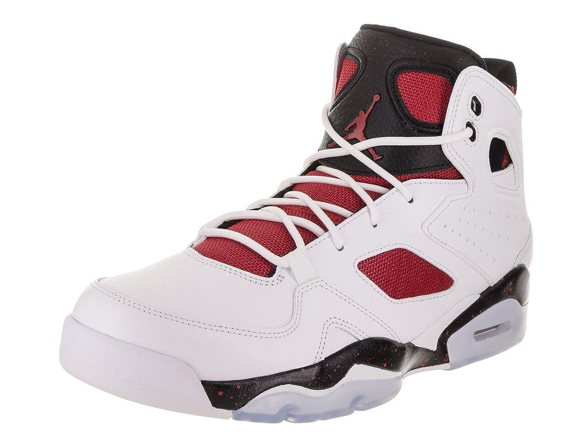 White Gym Red Black Night Nike Jordan Men BASKETBALL SHOE