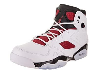 Image Unavailable. Image not available for. Color  Jordan Mens FLTCLB 91  White Gym RED ... 807bdcb31