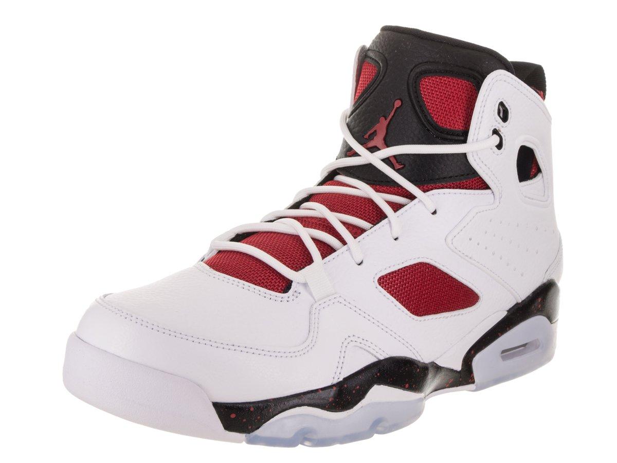 3c97e23a4778 Galleon - Jordan Mens FLTCLB 91 White Gym RED Black Night Size 10