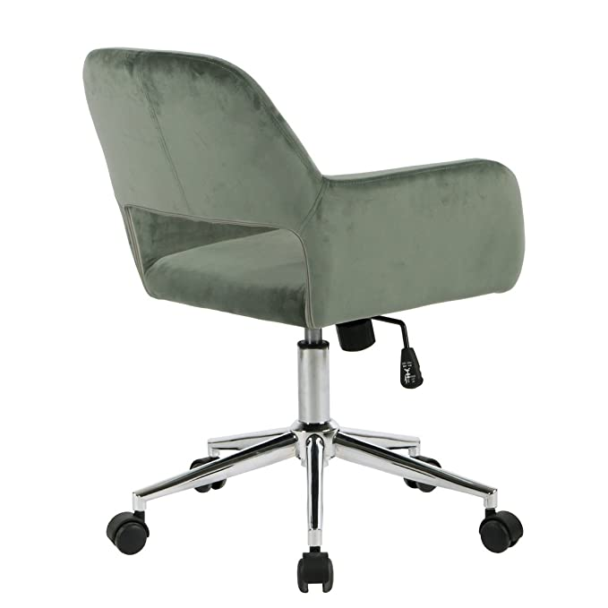 Incredible Grey Ihouse Mid Back Swivel Computer Desk Chair Ergonomic Gmtry Best Dining Table And Chair Ideas Images Gmtryco