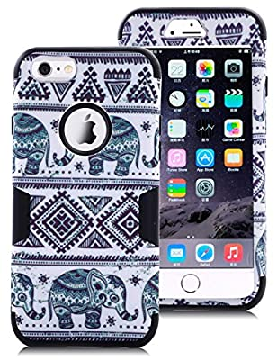"""TOPSKY Three Layer Heavy Duty High Impact Resistant Hybrid Protective Case For iPhone 6 and iPhone 6S (Only For 4.7"""") from TOPSKY(TM)"""