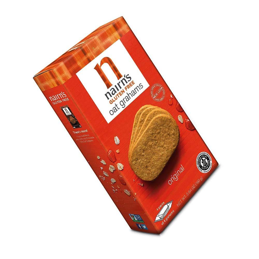 Nairns Nairns galletas de jengibre y avena sin gluten, 5.64 ...