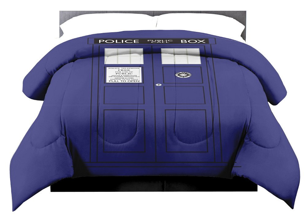 Dr Doctor Who Tardis King Size Comforter Bedding