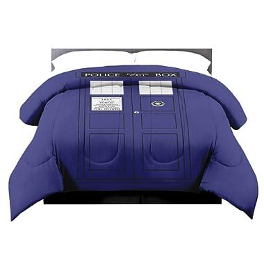 Lady Sandra Doctor Who Tardis Full/Queen Comforter