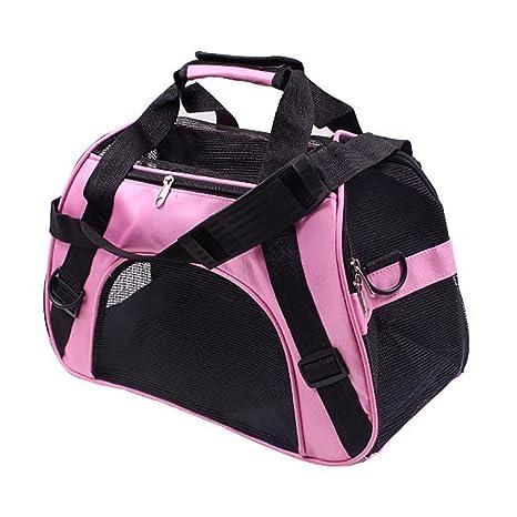 Bolsa de transporte portátil para mascotas, mochila para gatos, perros, viajes, paquetes