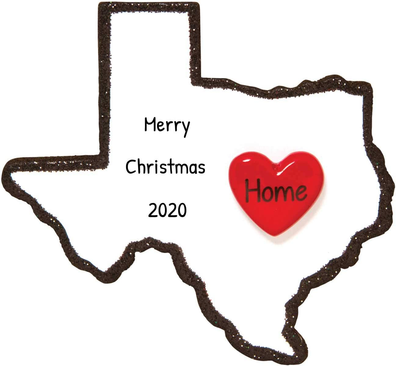 Christmas In Dallas 2020 Free Amazon.com: Personalized Texas Christmas Tree Ornament 2020