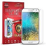 Galaxy E5 Screen Protector, GlassWorx Tempered Glass Screen Protector Film for Samsung Galaxy E5