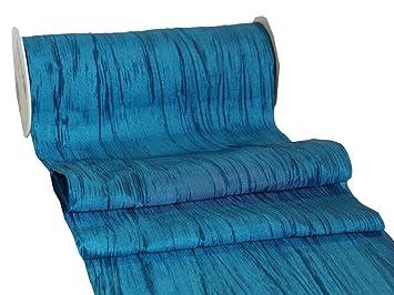 Amazon De Unbekannt 10m Fripe Taft 200mm Tischband Hellblau Blau