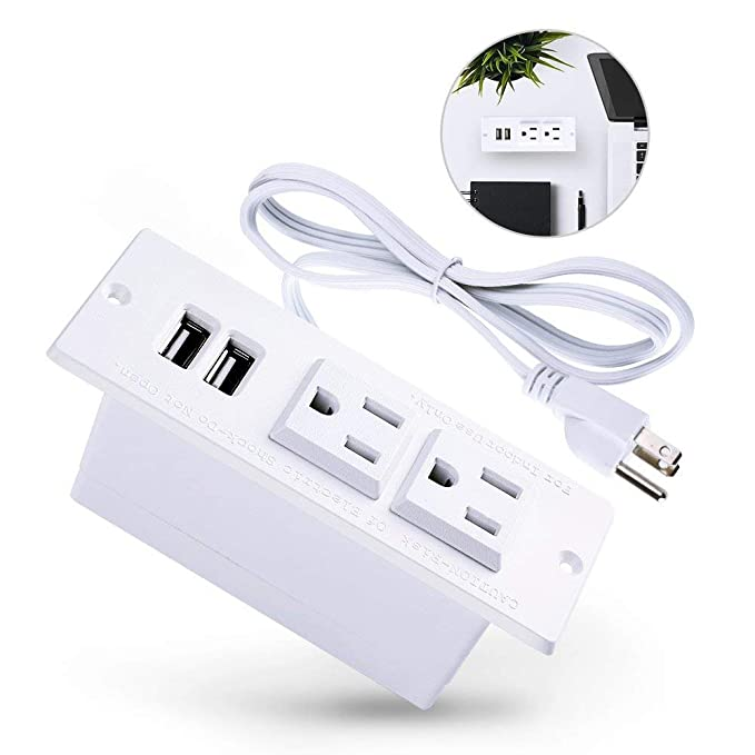 The 8 best recessed power strip white