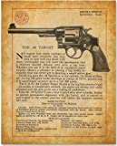 Smith & Wesson - Target .44 Revolver - 11x14 Unframed Art Print - Great Gift for Gun Owners