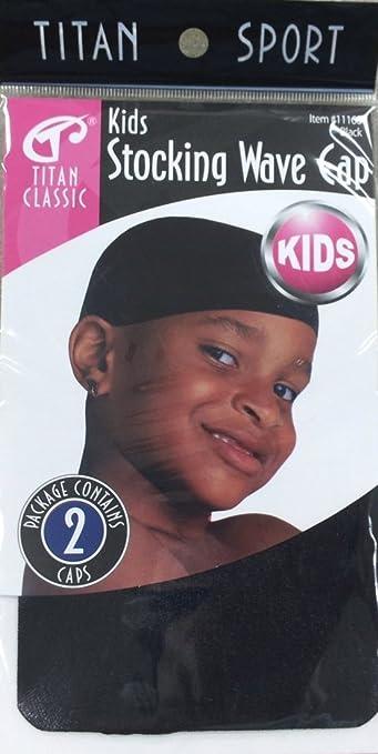 Pack of 2, Titan Classic Kids Stocking Wave Cap