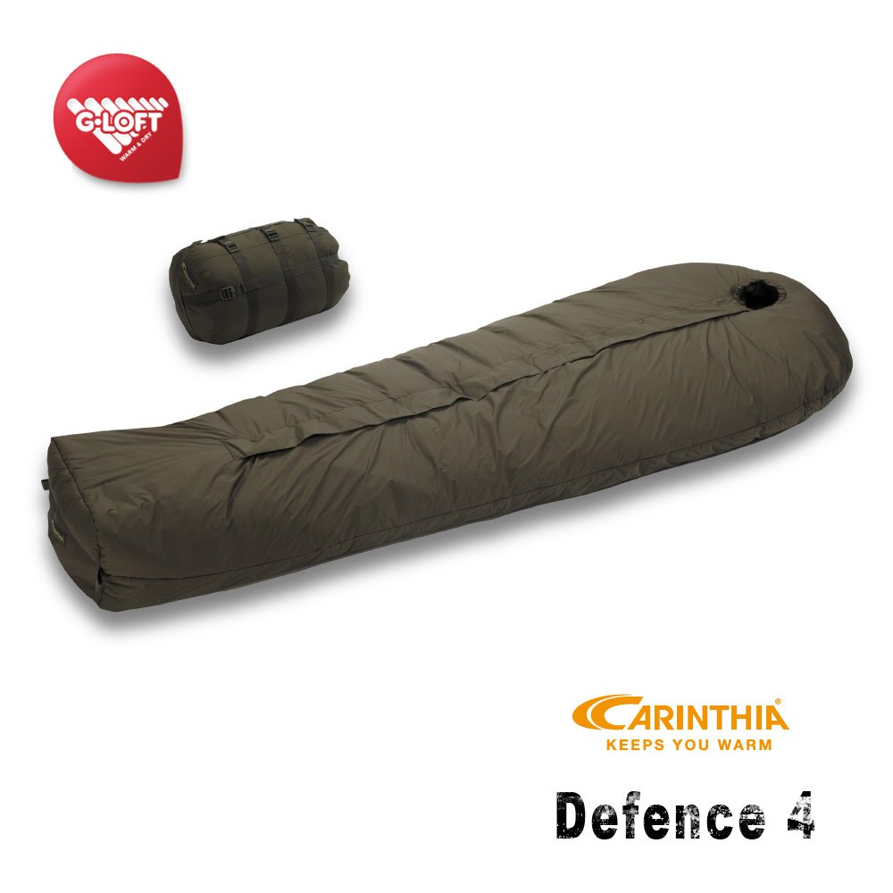 Carinthia Defence 4 All-Round Winter Schlafsack oliv M-185