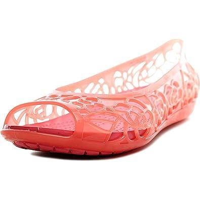 Crocs Women s Isabellajlyfltw Ballet Flats B01MQVAYKB