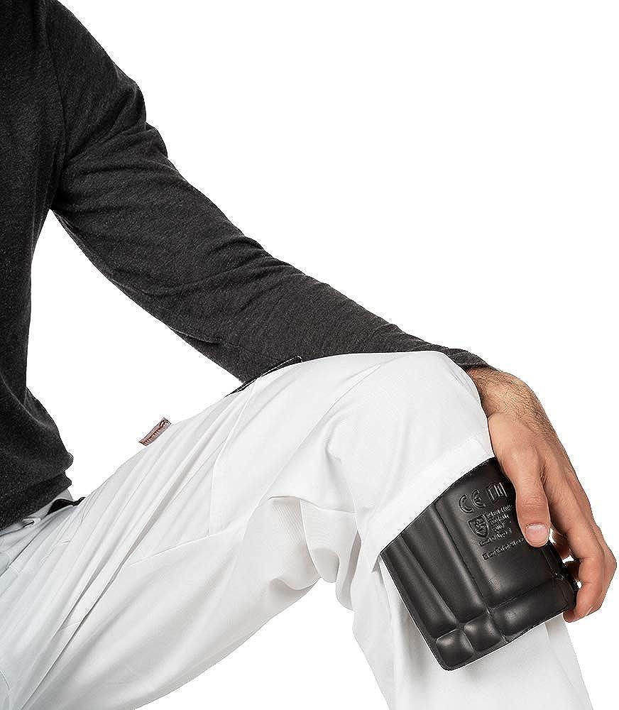 Herren Arbeitshose,Bundhose Mazalat/® Arbeitshosen m/änner mit Kniepolstertaschen S XXXL