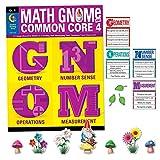 Creative Teaching Press Grade 4 Math GNOMe Book & Décor Combo Pack (3191)