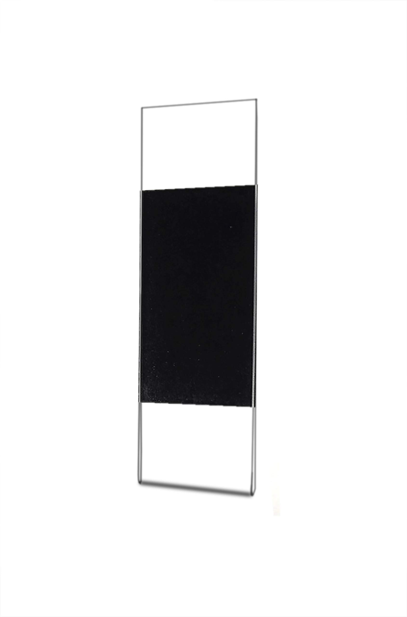 Marketing Holders 2''W x 6''H Photo Booth Strip Frame with Magnet Picture Strip Ads or Notice Small Frame Pack of 24