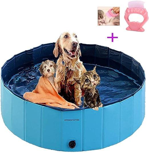 Piscina para mascotas plegable Piscina para perros portátil ...