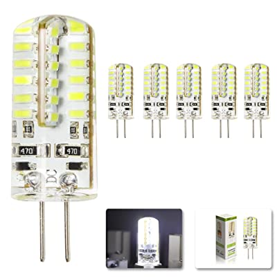 Froid G4 12v 220 Mengjay® Ampoule Blanc Led Smd 3w 5x 48leds Dc 3014 8OkwPNnX0