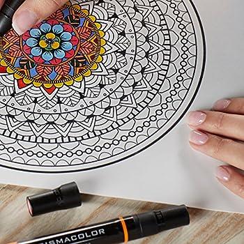 Prismacolor Premier Double-ended Art Markers, Fine & Chisel Tip, 12 Pack 6