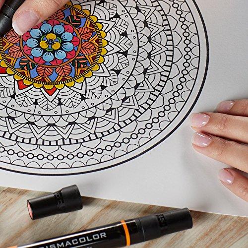 Prismacolor 3620 Premier Double-Ended Art MarkersFine and Chisel Tip