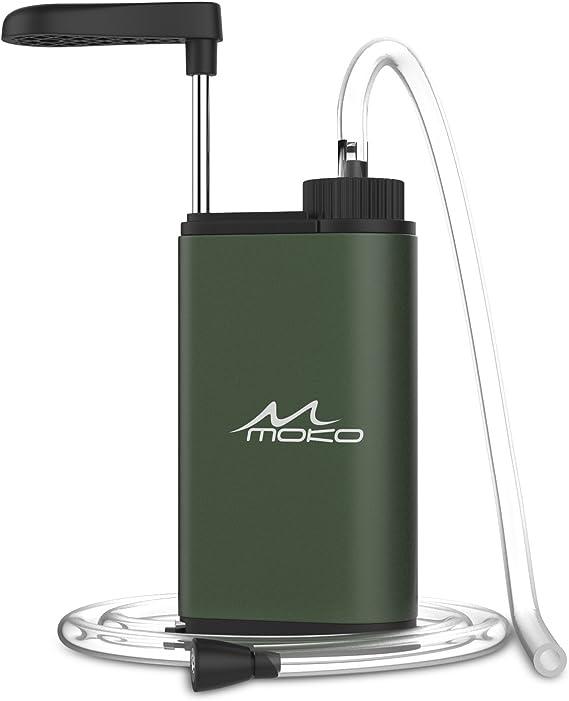 MoKo Filtro de Agua Portátil, Water Filter Emergencia Personal ...
