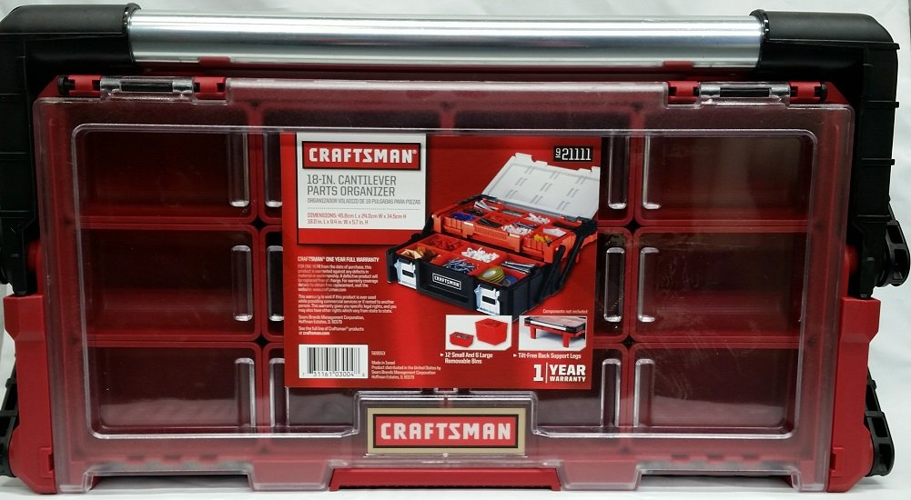 Craftsman 18 inch Cantilever Tool Box