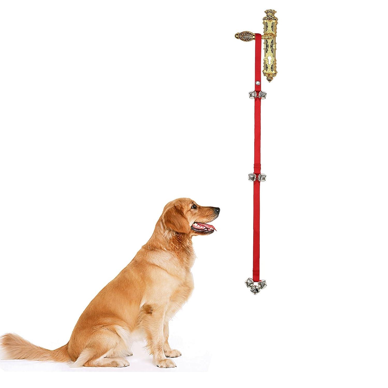 Clochette d'apprentissage à la propreté Audeuk pour chiens et chiots, longueur réglable