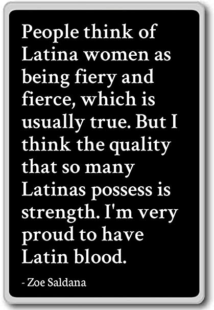Amazoncom People Think Of Latina Women As Being Fiery And Zoe