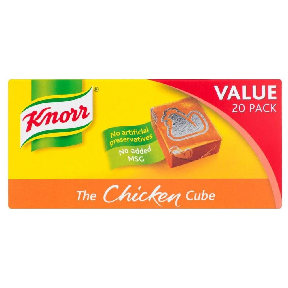 Knorr Stock Cubes Chicken (20x10g) - Pack of 6