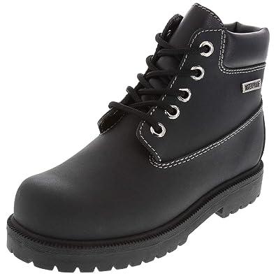 SmartFit Black Boys  Waterproof Boots 1 Regular ce822fabc465