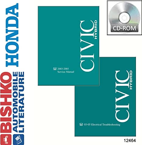 amazon com bishko automotive literature 2003 2004 2005 honda civic rh amazon com 2006 Civic Hybrid 2009 Civic Hybrid