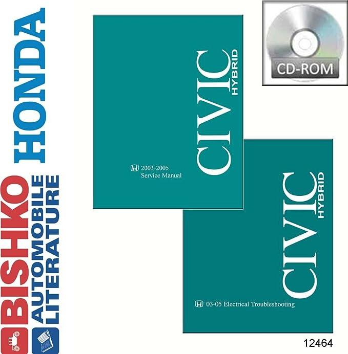 amazon com bishko automotive literature 2003 2004 2005 honda civic rh amazon com 2003 Honda Civic Manual PDF repair manual honda civic 2003
