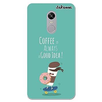 dakanna Funda para Xiaomi Redmi Note 4X | Comida Café y ...