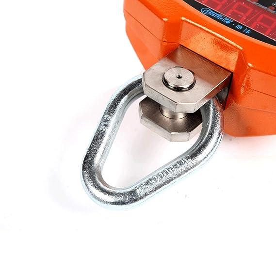 ZNND 3T Electrónico Grua Escala 2 Toneladas De Vista Directa Manos Colgando Dijo Durable Peso Métrica/Imperial Fácil A Leer Digital Monitor (Tamaño : 3T): ...